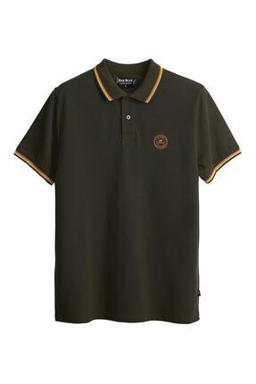 Bad Bear Erkek Haki Groove Polo Khakı T-shirt