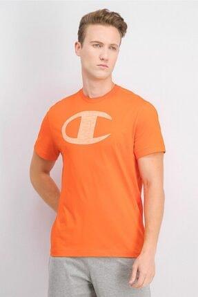 Champion Tshirt Graphic Print Big C Turuncu