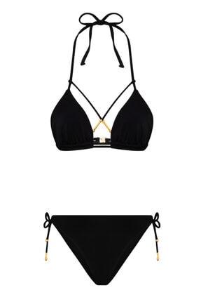 LA LOUVE Sirene Siyah Bikini Takımı