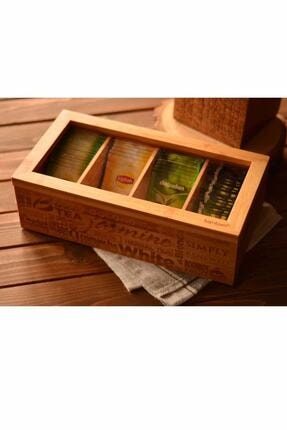 Bambum Jansen – 4 Bölmeli Çay Kutusu