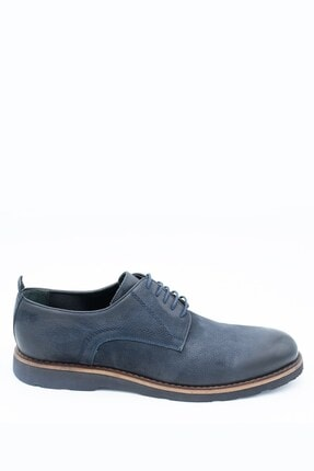 İgs Erkek Lacivert Deri Günlük Ayakkabı