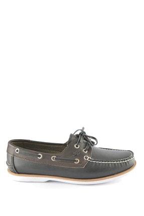 İgs Erkek Siyah Kahve Deri Günlük Ayakkabı I1255y M 1255