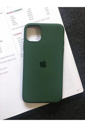 SUPPO Iphone 11 Pro Max Logolu Lansman Içi Kadife Silikon Kılıf