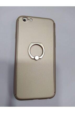 Penguen Iphone 6 Uyumlu Yüzüklü Tam Kaplayan 360 Kılıf