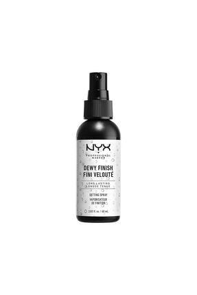 NYX Professional Makeup Makyaj Sabitleyici Sprey - Makeup Setting Spray Dewy Dewy 80 g
