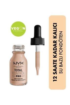 NYX Professional Makeup Total Control Pro Drop Foundation Porcelain - Fondöten
