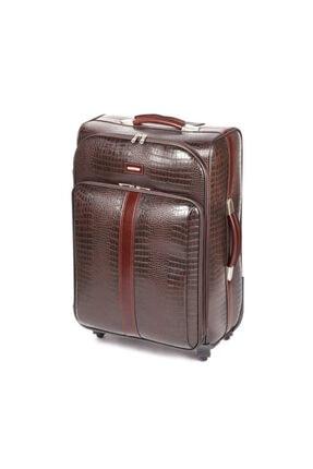 CANTAŞ Seyahat Çantası 433d/012 Küçük Boy Kahverengi