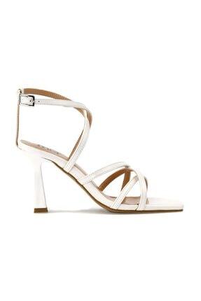 İnci Blazıng.z 1pr Beyaz Kadın Topuklu Ayakkabı