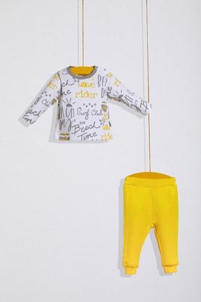 Wogi Erkek Bebek 2li Uzun Kollu Pijama Takımı 3-18 Ay PB21S502-5731A