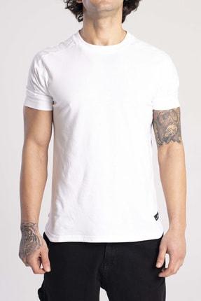 Catch Beyaz Rahat Kalıp T-shirt Y457-21
