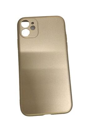 Cem Newface Apple Iphone 11 Gold Silikon Kılıf