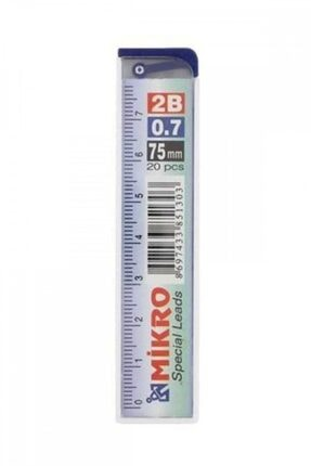 Faber Castell Mikro Min 3 Adet 0.7 Cetvelli Kalem Ucu 75 Mm 2b ( Kırtasiye)