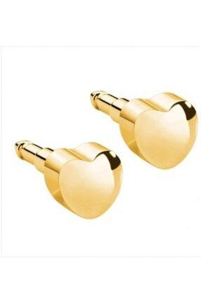 nina Çelik 24 Ayar Altın Kaplama Steril Antialerjik Kulak Delme Küpesi Günlük Kullanıma Uygundur