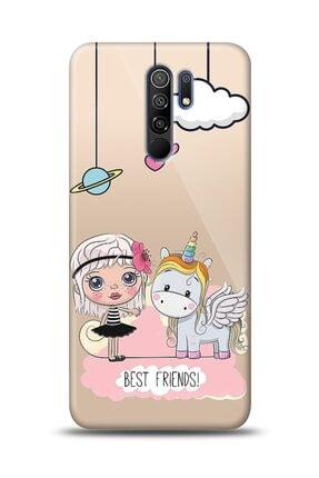 MobilCadde Xiaomi Redmi 9 Best Friends Resimli Kılıf
