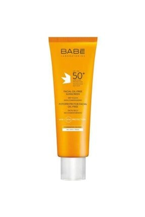 Babe Facial Oil Free Sunscreen Spf50+ Dry Touch 50 Ml