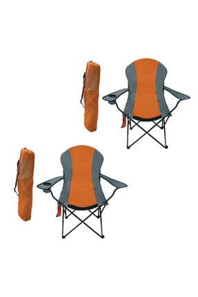 Ege 2'li Büyük Xl Katlanabilir Kamp Sandalyesi