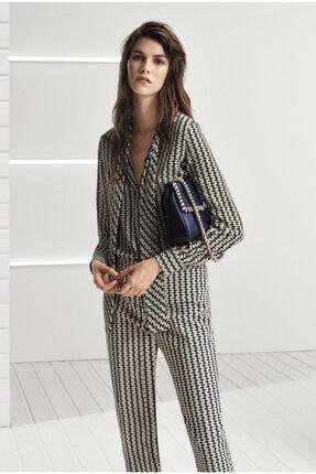 Tommy Hilfiger Hugo Boss Rivase Fish Print Kadın Bluz