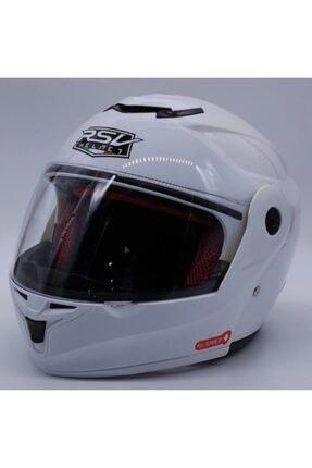 RSV 960 Çene Açılır - Güneş Vizörlü ( Gözlüklü ) Motorsiklet Kaskı