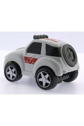 MEGA Sürtmeli Kırılmaz Beyaz Beetle Jeep T555