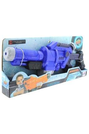 MEGA 55 Cm Pompalı Mavi Su Tabancası