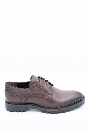 İgs Erkek Kahverengi Deri Günlük Ayakkabı I19hka-02 M 1000