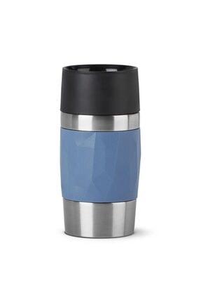 TEFAL Travel Mug Compact 0,3 L Termos - Mavi