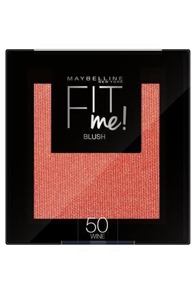 Maybelline New York Allık - Fit Me Blush 50 Wine 3600531537357