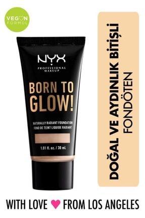 NYX Professional Makeup Fondöten - Born To Glow! Naturally Radiant Foundation 3 Porcelain 800897190316