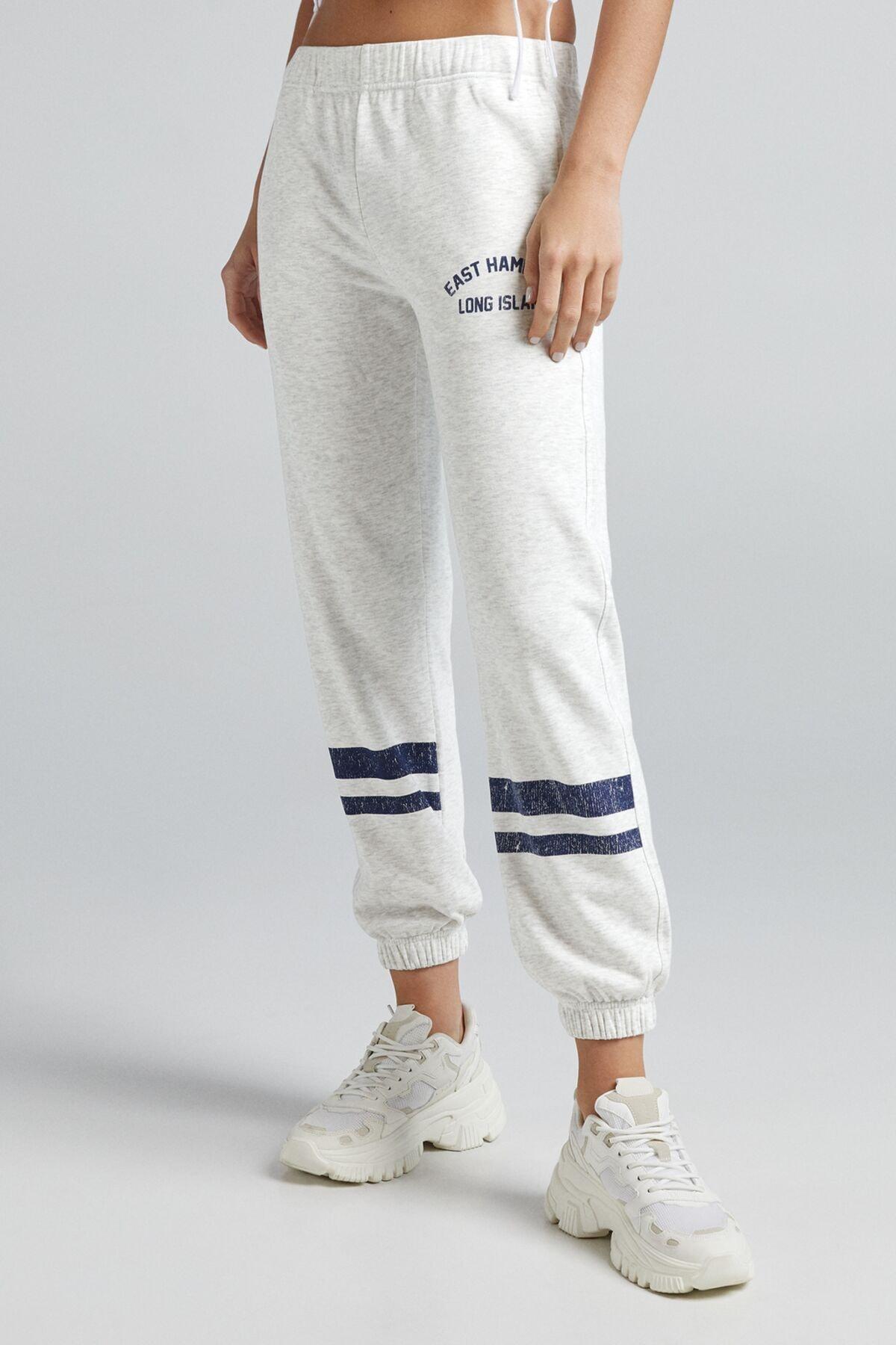 Bershka Low Waist Pamuklu Jogger Pantolon