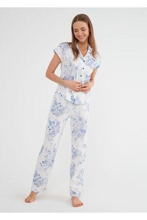 SUWEN Alice Maskulen Pijama Takımı