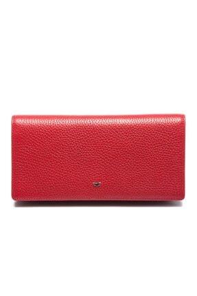 Tergan Kırmızı Deri Kadın Cüzdanı 05685b68