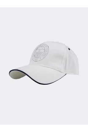 Fenerium Kadın Gümüş Taşlı Logo Şapka