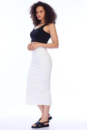 Pitti Kadın Beyaz Etek 20942