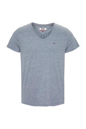 Tommy Hilfiger Erkek Basic Vneck T-Shirt DM0DM06710