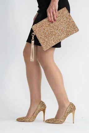 Capone Outfitters Kadın Altın Renk Çanta