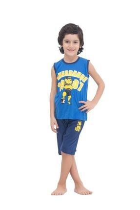 Fenerbahçe Erkek Çocuk Mavi  Pijama Takımı 4532