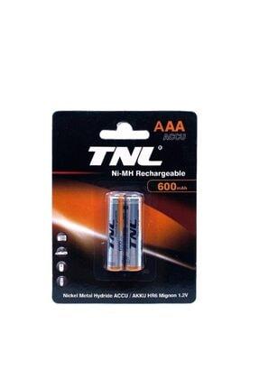 TNL 1.2v 600mah Şarj Edilebilir Ince Pil Aaa