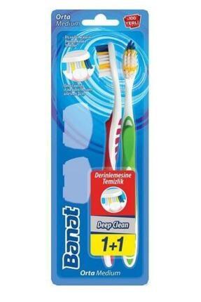 Banat Diş Fırçası Deep Clean 1+1