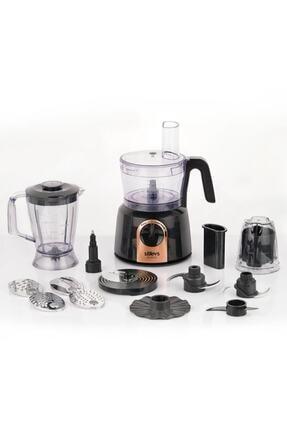 Stilevs Maxi Chef Pro Mutfak Robotu-siyah&bakır