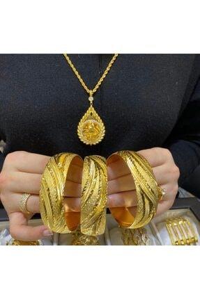 barış gold altın kaplama Altın Kaplama Kadın Eninde Bilezik Modeli Adet Fiyatıdır 22 Ayar 2 Cm