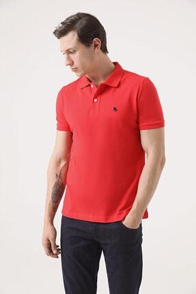 D'S Damat Regular Fit Mercan Pike Dokulu T-shirt