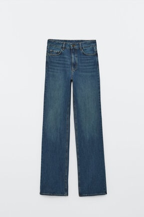 Massimo Dutti Yüksek Bel Bootcut Jean