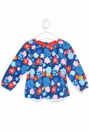 Çikoby Kız Bebek Desenli Gömlek 6-36 Ay C19w-ck3581
