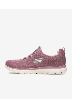 SKECHERS SUMMITS - LEOPARD SPOT Kadın Pembe Spor Ayakkabı