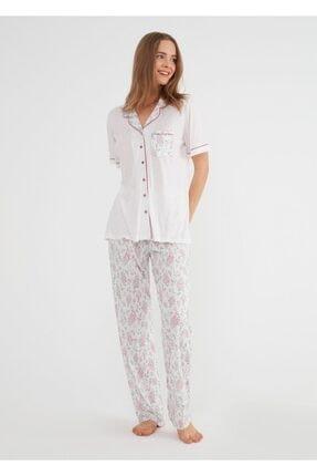 SUWEN Rose Maskulen Pijama Takımı