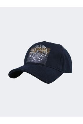 Fenerium Kadın Simli Tek Renk Logo Şapka