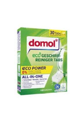 DOMOL Bulaşık Makinesi Tableti Eco 30'lu