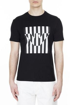 Emporio Armani Erkek Siyah  T Shirt 3h1tb7 1j30z 0999