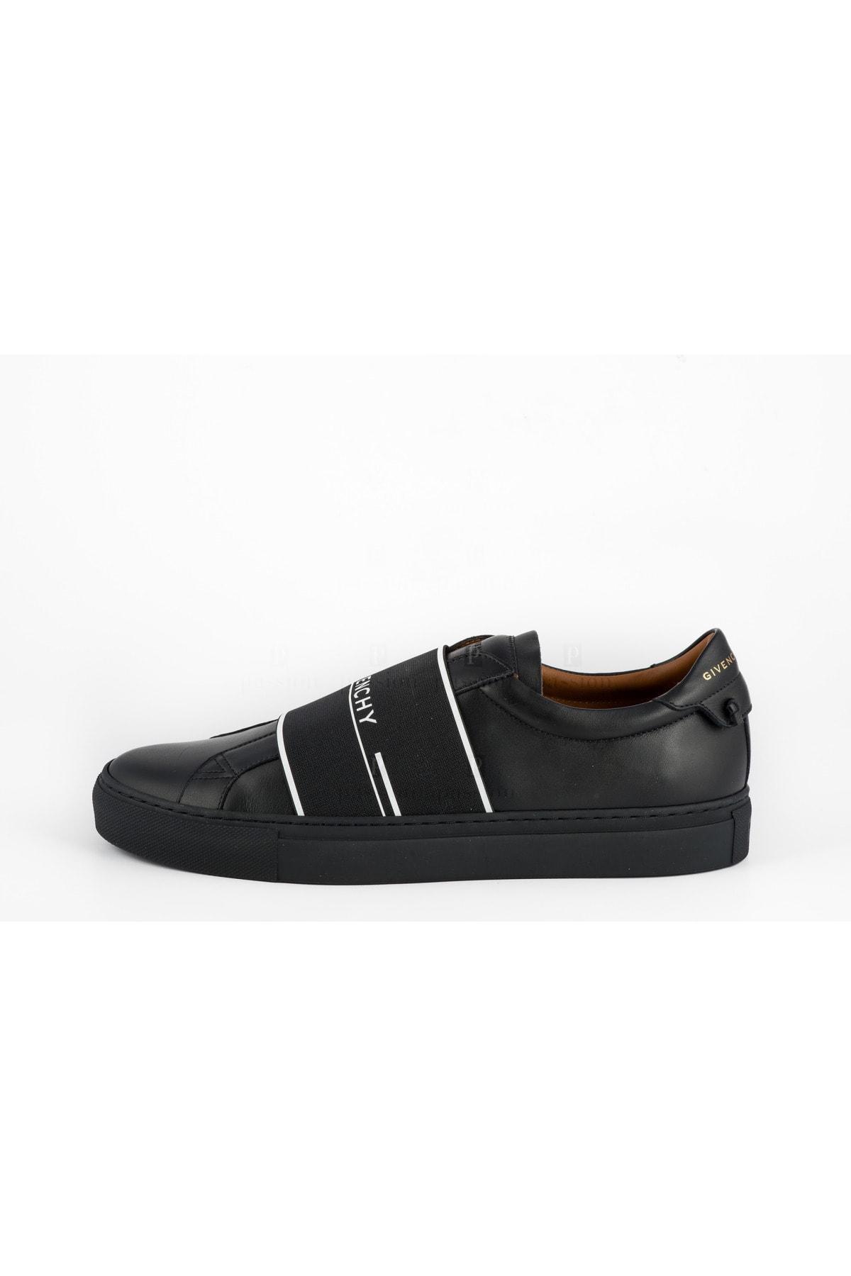 Givenchy Erkek Siyah Deri Sneaker 2