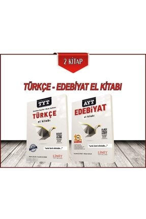Limit Yayınları Türkçe Edebiyat El Kitabı Seti 2 Kitap